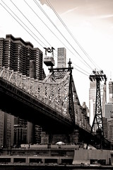 Queensboro (59th St., Ed Koch) Bridge (sjnnyny) Tags: queensborobridge 59stbridge edkochbridge rooseveltislandtram nyc skyline eastriver manhhattan stevenj sjnnyny d7500 afsdx1755f28edg transport