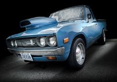 CHEVSUN (Dave GRR) Tags: datsun chevrolet supercar classic vintage old super custom cars coffee show auto toronto olympus