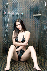 DSC_6188 (錢龍) Tags: 貝兒 中華民國 台灣 台中 沐蘭 汽車旅館 性感 巨乳 美胸 美乳 外拍 旅拍 長髮 內衣 內褲 胸罩 美麗 belle nikon d850 hotel sexy underwear