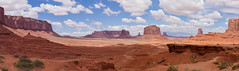 Adventures at Monument Valley (danmcgrotty) Tags: monument valley hike hiking road trip drive canon t6 utah arizona dog horse stones red rocks mountain hills views clouds sky skyline barn wood orange awestruck