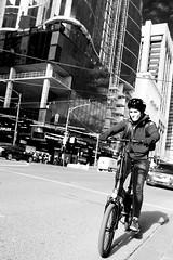 Melbourne biker (Cranamanor13) Tags: streetphotography streetportraits street people portrait peoplewatching portraiture melbourne melbournestreet andrewwilson