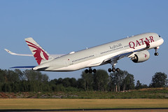 Qatar Airways  Airbus A350-941 A7-ALR (widebodies) Tags: stockholm arlanda arn essa widebody widebodies plane aircraft flughafen airport flugzeug flugzeugbilder qatar airways airbus a350941 a7alr
