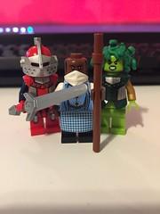 DC's Earth 9 (Numbuh1Nerd) Tags: lego purist custom dc superheroes minifigures comics multiverse multiversity batman superman wonder woman twoface harvey dent gotham
