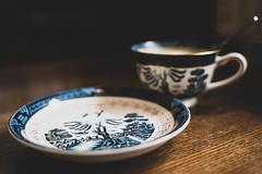 HIROSE (www.PhoTophe.com) Tags: a73 a7iii cafe christophehervouet coffee coffeeshop cup discover explore hirose interior japan japanese kyoto photophe photophecom photophejapan porcelain sagatenryujiimahoricho saucer tamrone2875mmf28diiiirxd trip wander