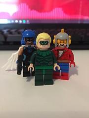 DC's Earth 2 (Numbuh1Nerd) Tags: lego purist custom dc superheroes minifigures comics justice society america earth 2 multiverse multiversity alan scott green lantern jay garrick flash hawkgirl