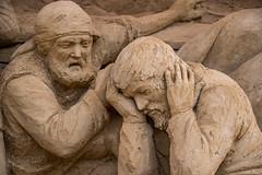 Sandskulptur von Leoardo Ugolini in Warnemünde 4544 (Peter Goll thx for +14.000.000 views) Tags: rostock mecklenburgvorpommern deutschland sandburg sandkunst sandskulptur warnemünde ostsee balticsea