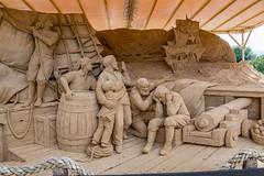 Sandskulptur von Leoardo Ugolini in Warnemünde 4543 (Peter Goll thx for +14.000.000 views) Tags: rostock mecklenburgvorpommern deutschland