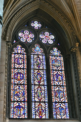 Stained Glass Window (Bri_J) Tags: lincolncathedral cathedral lincoln lincolnshire uk church hdr nikon d7500 stainedglasswindow stainedglass window christianity