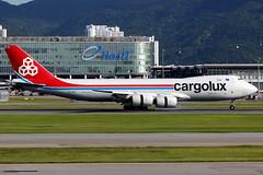 Cargolux | Boeing 747-8F | LX-VCK | Hong Kong International (Dennis HKG) Tags: cargolux clx cv aircraft airplane airport plane planespotting canon 7d 100400 hongkong cheklapkok vhhh hkg boeing 747 7478 boeing747 boeing7478 7478f boeing7478f lxvck cargo freighter