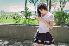 III02232 (HwaCheng Wang 王華政) Tags: 賴寶兒 人像 外拍 舊 兒童樂園 花博 md model portraiture sony a7r3 ilce7rm3 a7r mark3 a9 ilce9 24 35 85 gm
