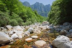 In the Vikos Gorge, Greece (Miche & Jon Rousell) Tags: mountains greece gorge vikosgorge zagori astraka timfi mikropapigo vikos pindos pindosmountains