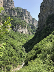 In the Vikos Gorge, Greece (Miche & Jon Rousell) Tags: mountains greece gorge vikosgorge zagori astraka timfi mikropapigo iphone vikos iphonography iphone8 pindos pindosmountains