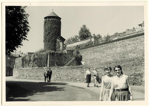 AlbumG230 Festungsmauern, Weilburg, Juni 1957