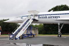 G-BBDG Concorde 202 (eigjb) Tags: gbbdg bac concorde british aircraft corporation supersonic airliner jet museum brooklands preserved airplane aeroplane aviation airways plane spotting test development