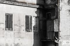 carboncino (Alessandro Nuti) Tags: bianco white nero black carboncino crayon degrado deterioration decay finestra window finestre windows chiaroscuro chiaro light scuro dark