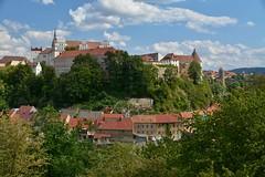 Blick zur Ortenburg, Stadt Bautzen. (Milan Madle) Tags: bautzen sachsen oberlausitz saxony germany burg d7100 nikon