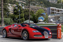 Bugatti Veyron 16.4 Grand Sport (Alexandre Prevot) Tags: monaco mc montecarlo montecarlu 98000 98 voiture european cars automotive automobile exotics exotic supercars supercar worldcars auto car berline sport route transport déplacement parking luxe grandestsupercars ges