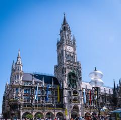 Neues Rathaus am Marienplatz in München (Georg Brutalis) Tags: bayern marie münchen rathaus deutschland