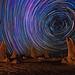 Star Trails at The Pinnacles Desert, Western Australia