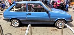 1989 FORD FIESTA 1100 L 1117cc F513VRU (Midlands Vehicle Photographer.) Tags: 1989 ford fiesta 1100 l 1117cc f513vru