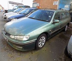 1999 PEUGEOT 406 110 HDI EXECUTIVE ESTATE 1997cc T493FUM - T9NAG (Midlands Vehicle Photographer.) Tags: 1999 peugeot 406 110 hdi executive estate 1997cc t493fum t9nag