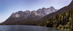 Eibsee und Zugspitze (Georg Brutalis) Tags: bayern bergsee eibsee marie see zugspitze zugspitzmassiv grainau deutschland