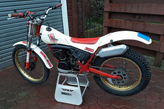 1985 Yamaha TY350 - $2,500 - August 2019 (nzpeterb) Tags: nzpeterb nz newzealand trials aircooled twinshock pre65 mototrials motorcycle