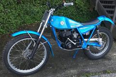 1979 Bultaco Sherpa T 250 - $4,500 - August 2019 (nzpeterb) Tags: nzpeterb nz newzealand trials aircooled twinshock pre65 mototrials motorcycle