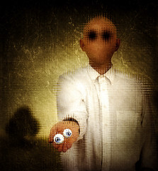 Der Blinde (winterkind.) Tags: surreal eyes