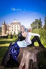 Gwendolyn & Oswald [Odin Sphere] 16 (- NoEx Photography -) Tags: cosplay cosplayer cosplayeur cosplayeuse cosplayers cosplayeurs vizille châteaudevizille parcduchâteaudevizille odinsphere gwendolyn oswald gwendolyncosplay oswaldcosplay odinspherecosplay nature forêt forest arbre arbres tree trees love amour couple castle château robe dress isère grenoble pretty jolie fille femme joliefemme joliefille beautiful beauty belle bellefille bellefemme costume costumes