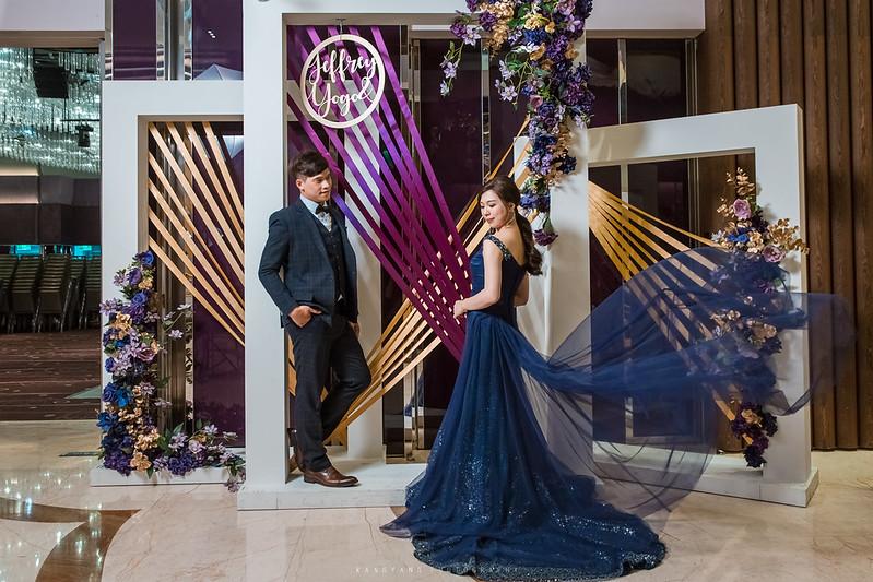 [新北婚攝] Jeffry&Yogo 早儀晚宴 婚禮攝影 @ 新莊典華 紫艷盛事廳   #婚攝楊康
