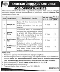 Pakistan Ordnance Factories POF Wah Cantt Jobs 2019 www.pof.gov.pk (mj00712) Tags: jobs career careeropportunities careeropportunity filectory jobposting jobspostings jobpostings jobupdates jobsearch jobseeking jobopenings job careers government pakistan ordnance factories pof dawn news engineering hse wah