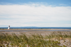 The Lighthouse (timon.blub) Tags: quebec canada travel gaspesie lighthouse sea coast beach idyllic