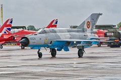 MiG 21 LanceR C (Nigel Musgrove-2.5 million views-thank you!) Tags: cold war fighter 21 c jet russian lancer mig show uk england tattoo force display military air royal gloucestershire international raf romanian fairford riat 2019 6824