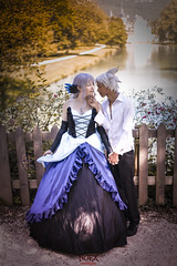 Gwendolyn & Oswald [Odin Sphere] 11 (- NoEx Photography -) Tags: cosplay cosplayer cosplayeur cosplayeuse cosplayers cosplayeurs vizille châteaudevizille parcduchâteaudevizille odinsphere gwendolyn oswald gwendolyncosplay oswaldcosplay odinspherecosplay nature forêt forest arbre arbres tree trees love amour couple castle château robe dress isère grenoble pretty jolie fille femme joliefemme joliefille beautiful beauty belle bellefille bellefemme costume costumes