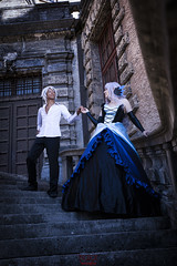 Gwendolyn & Oswald [Odin Sphere] 01 (- NoEx Photography -) Tags: cosplay cosplayer cosplayeur cosplayeuse cosplayers cosplayeurs vizille châteaudevizille parcduchâteaudevizille odinsphere gwendolyn oswald gwendolyncosplay oswaldcosplay odinspherecosplay nature forêt forest arbre arbres tree trees love amour couple castle château robe dress isère grenoble pretty jolie fille femme joliefemme joliefille beautiful beauty belle bellefille bellefemme costume costumes