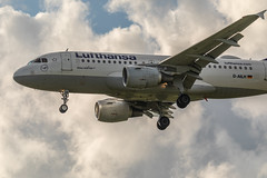 Lufthansa Airbus A319-114 (Jonas Juodišius) Tags: vilnius lietuva lithuania liepkalnis