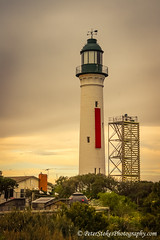 Queenscliff Low 'White' lighthouse', (1862 ) Queenscliff, Victoria (Peter.Stokes) Tags: colour nature landscape outdoors photography photo australian australia victoria light sky lighthouse house color water landscapes vacations