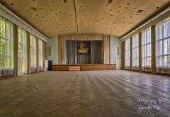 Abandoned Ballroom (Photography by Linda Lu) Tags: lostplacesgermany lostplace ballroom ballsall abandoned decay discarded urbex urban urbexgermany
