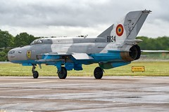 MiG 21 LanceR C (Nigel Musgrove-2.5 million views-thank you!) Tags: cold war fighter 21 c jet russian lancer mig show uk england tattoo force display air royal gloucestershire international raf romanian fairford riat 2019 6824 military