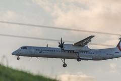 LOT Dash 8-400 DHC-8 402 (Jonas Juodišius) Tags: vilnius lietuva lithuania liepkalnis