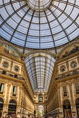 Galería Vittorio Emanuele II (2) (lebeauserge.es) Tags: arquitectura italia interior edificio galeria ciudad cielo cristal milano milán