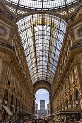 Galería Vittorio Emanuele II (3) (lebeauserge.es) Tags: arquitectura italia interior edificio galeria ciudad cielo cristal milano milán