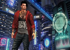 GABRIEL@TMD August 2019 (Geoffrey Firehawk MR V♛ Belgium 2014) Tags: sl secondlife event tmd themensdpt gabriel tank cardigan pants casual mesh belleza signature handsome tokyo japan model modeling mode mannequin malefashion menswear male men guy homme fashion fashionpixel attitude style