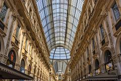Galería Vittorio Emanuele II (1) (lebeauserge.es) Tags: arquitectura italia interior edificio galeria ciudad cielo cristal milano milán