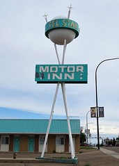 AB, Brooks-AB 873 Tel Star Motor Inn Neon Sign