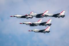 USAF Thunderbirds (Milwaukee) - 12 (jeff_a_goldberg) Tags: aircraft airplane usafthunderbirds fighterjet milwaukee milwaukeeairwatershow fighter airshow usaf usairforce thunderbirds military f16 usafairdemonstrationsquadron f16fightingfalcon summer wisconsin unitedstatesofamerica