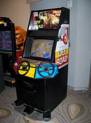 CA Santa Clara - Off Road Track Pak (scottamus) Tags: classic arcade video game cabinet driving santaclara california californiaextreme cax offroadtrackpak leland 1989