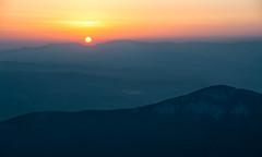 Good morning (Milos Golubovic) Tags: trem nocni uspon niš serbia srbija sunrise sun mountains horizont dawn divna gorica