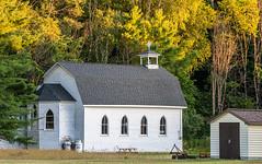 Little Church (Rainfire Photography) Tags: church irondale salernolake cottagecountry north ontario canada nikond850 mindenhills